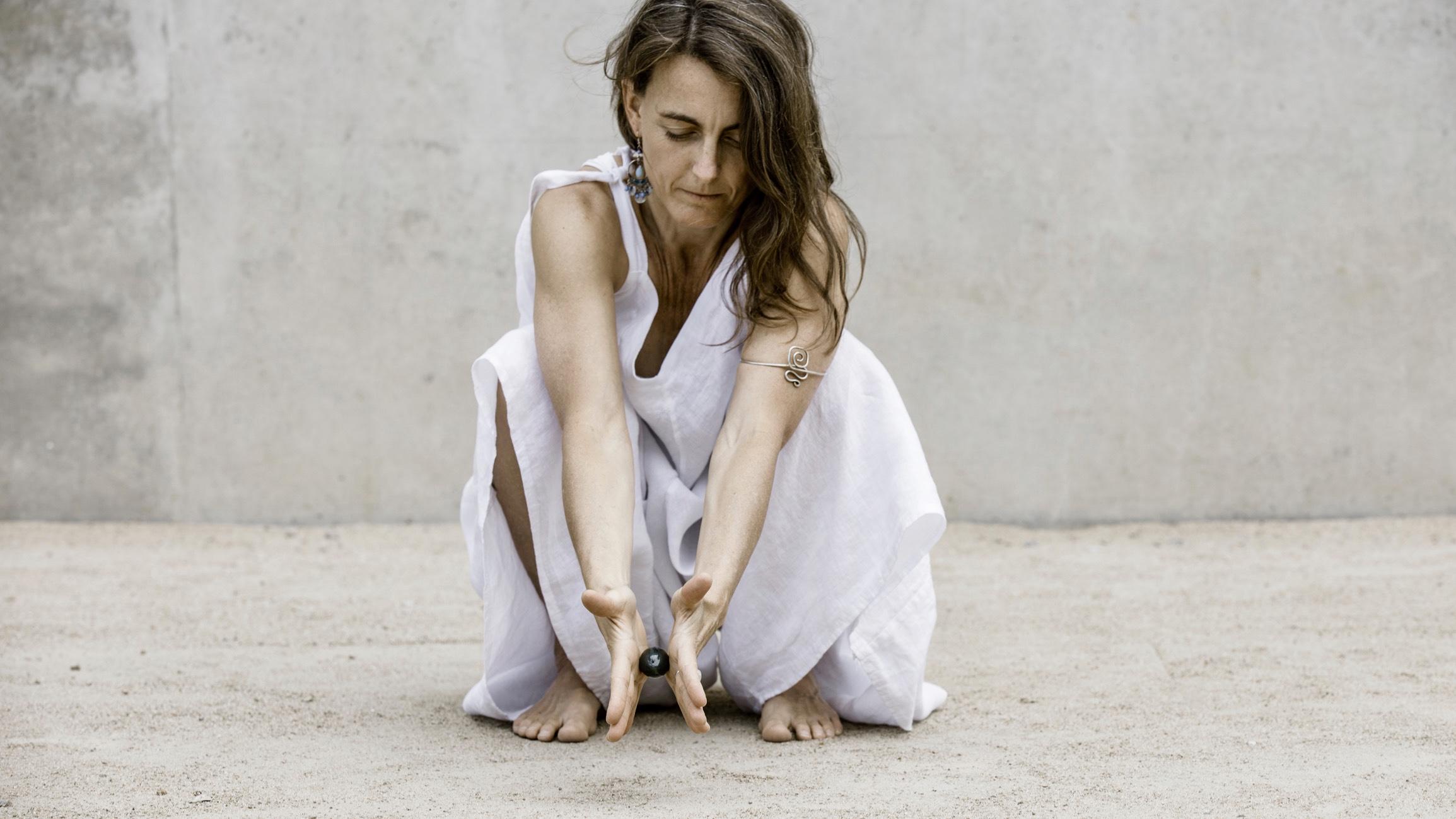 Jade Ei bei yoga freiburg